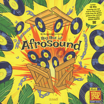 "V.A. - Big Box Of Afrosound (Vinyl 10x7"" - 2015 - EU - Original)"