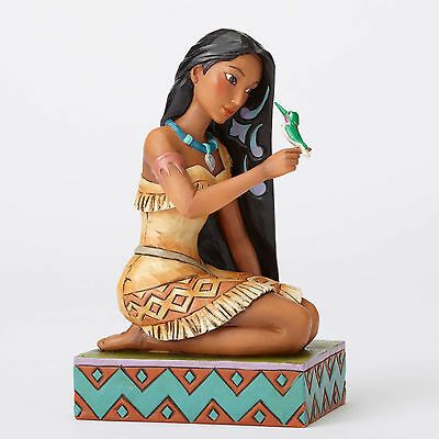 Jim Shore Disney Traditions Pocahontas with Flit Free and Fierce 4056128 NIB NEW