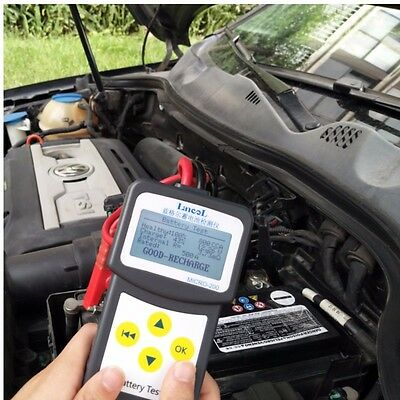12V Auto Battery Tester Car Battery analyzer MICRO-200 with printing function