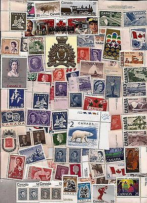 vintage MINT MNH UNUSED FULL GUM CANADA Canadian postage stamps lot A17F MNH