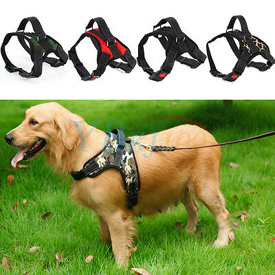 New Pro Soft Adjustable Control Harness Pet Large Dog Chest Training Collar Vest