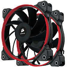 NEW Corsair Air Series AF120 Performance Edition Case Fan Twin Pack