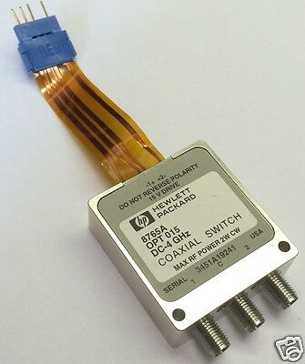 1 HF-Relais HP 8765A  Coaxial Switch Hewlett Packard