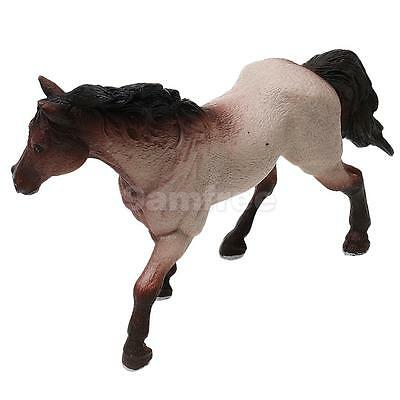 Realistic Quarter Horse Farm Animal Model Figurine Kids Toy Collectibles