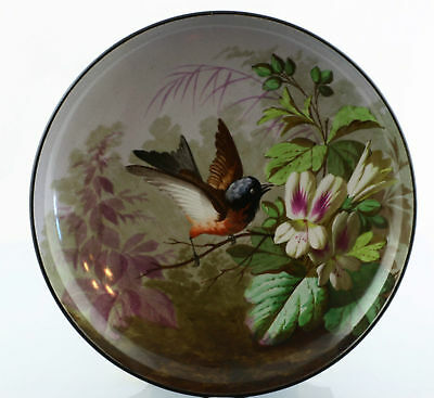 Fine hand-painted Art nouveau Faience Plate around 1890