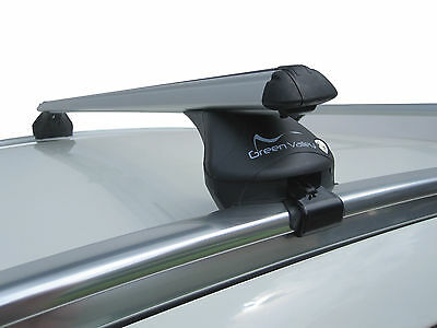Aero Streamline VOLVO XC60 08-ON Aluminium Universal Anti Theft Lockable Roof Rail Box Cross Bars
