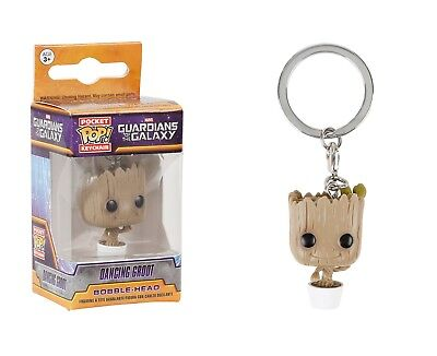 Funko Pocket Pop Keychain Marvel - Guardians Of The Galaxy: Dancing Groot Figure