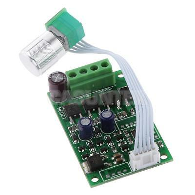 Ultra-small DC 6V-24V PWM Mini Motor Speed Controller Board w/ ON/OFF Switch