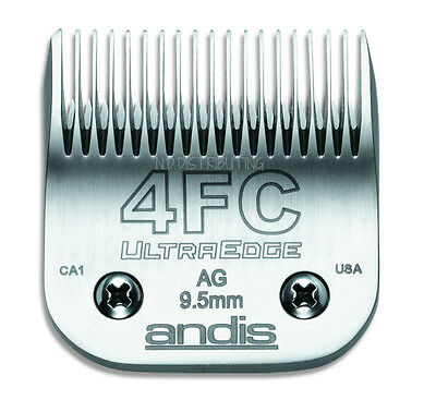 "Andis UltraEdge 4F Detachable Replacement Clipper Blade # 64123 3/8"" 9.5mm NEW"
