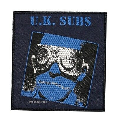 "Punk Rock ""UK Subs: Another Kind of Blues"" First Album Art Sew On Applique Patch"