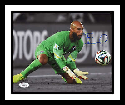 Tim Howard Signed First Edition Of The Keeper Usa Soccer Everton