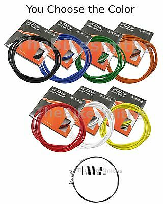 Alligator Pro Shift Gear PTFE Cable & Housing Kit Set Colors fit Jagwire Shimano