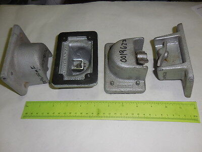 CROUSE-HINDS 2/LOT Explosion Proof/Weather-Vapor Tight Switch Cover DISCOUNTED