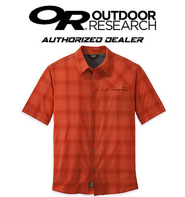 Outdoor Research OR Men's Astroman S/S Short Sleeve Shirt for Adventurers