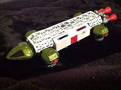 1974 Dinky Toys #359 Space 1999 Green Diecast Eagle Transporter Vintage Meccano