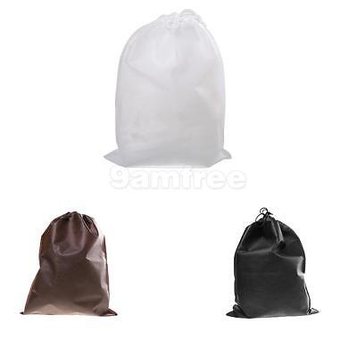 2016 Portable Shoes Bag Travel Storage Pouch Drawstring Dust Bags Non-woven 10Pc