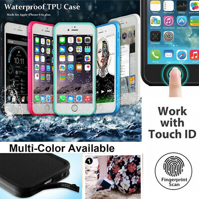 Waterproof Shockproof Hybrid Rubber Case Cover For Apple iPhone 5/5s SE 6 7 Plus