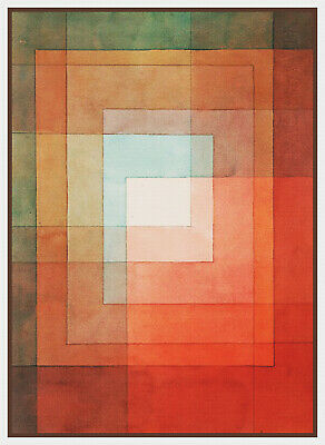 Modern Artist Paul Klee Polyphones Abstract  Counted Cross Stitch Pattern