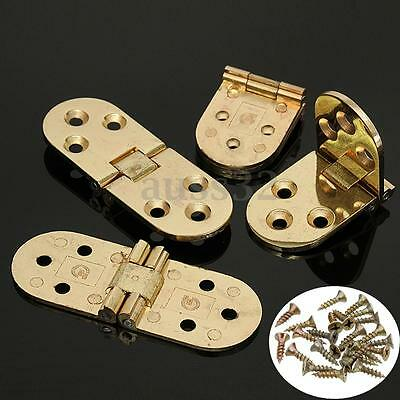 4X Flip Flush Mount Hinge for Flap Top Table Folding Table Extension 3.1x1.1''