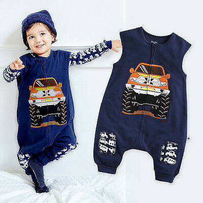 "Vaenait Baby Toddler Kids Boys Clothes Blankets Sleepsack ""Cotton Jeep"" 1T-7T"