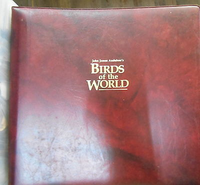 Birds of the World collection of 56 ( FDC ) FIRST DAY COVERS in De Luxe Album