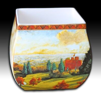 "Border Fine Arts Winston Churchill Plater/ Jardiniere ""View At Chartwell"""