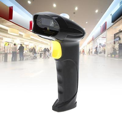 Automatic USB Laser Scan Barcode Scanner Bar Code Reader Black Handheld Stand SS