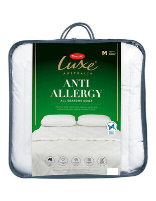 NEW Tontine Luxe Anti Allergy  Polyester Quilt