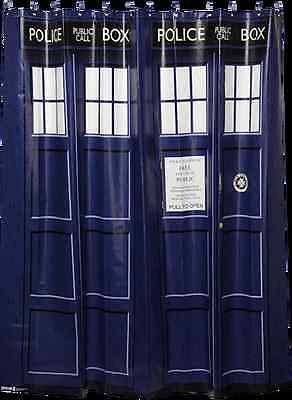 Doctor Who - TARDIS Shower Curtain-Brand New
