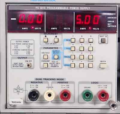 Tektronix Tm5000 Series Ps 5010 Triple Programmable Power Supply