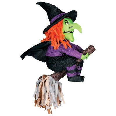 Witch Shaped Halloween Party Piñata