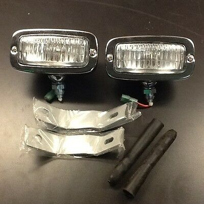 VW Beetle Reverse Lights With Brackets  67-prior aftermarket
