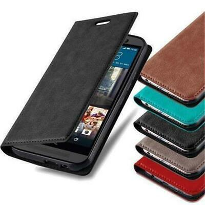BOOK Style Cover CASE with invisible Magnet for HTC Smartphones Flip Wallet Card