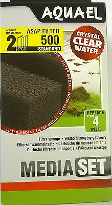 Aquael Asap 500 Aquarium Filter Sponge Standard  5905546196284