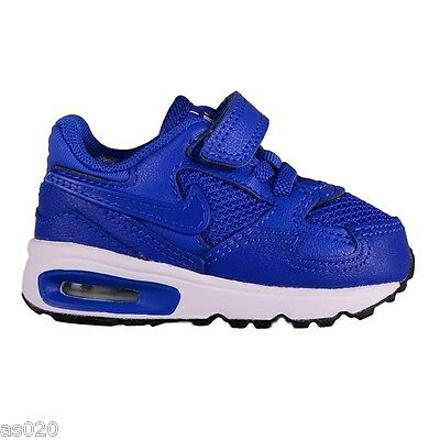 Nike Air Max ST TDV Toddlers Kids Infants Boys Velcro Trainers Shoes  Royal Blue