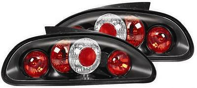 ROVER MGF and MG-TF BLACK Lexus style rear lights 1 pair