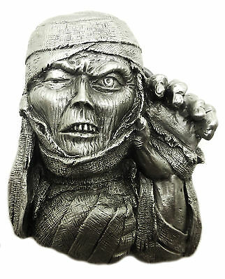 Egyptian Mummy Belt Buckle Zombie Horror Themed Authentic Great American Product