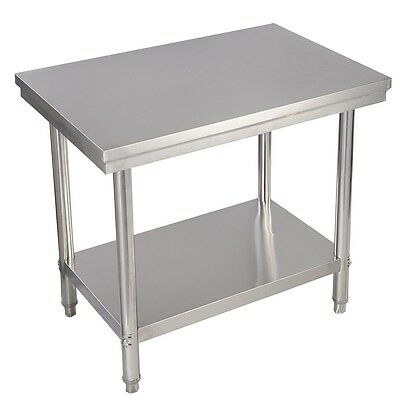 "24"" x 36"" Stainless Steel Commercial Kitchen Work Food Prep Table US NEW"