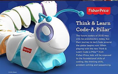 Fisher Price Code-A-Pillar think  and learn toy