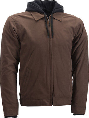 Highway 21 Gearhead Jacket Brown 2X
