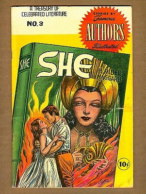 Stories by Famous Authors Illustrated #3 (FR) Seaboard 1950 She Haggard (c#09010