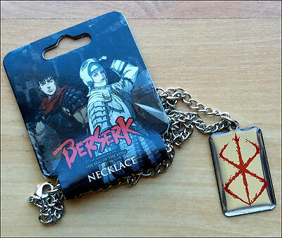 Berserk Mark of Sacrifice Metal Neck Chain Pendant Necklace Costume Cosplay NEW