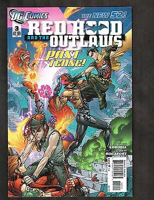 Red Hood and The Outlaws #3 ~ New 52 ~ 2012 (9.2) WH
