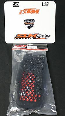 New Srt Pro-Armor Black Radiator Guards Srt00115 Ktm Husaberg Big Bike Motocross