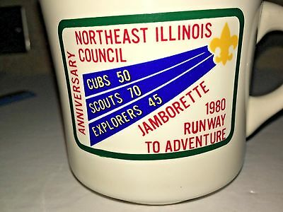 BOY SCOUTS NORTHEAST ILLINOIS COUNCIL JAMBORETTE BSA SCOUT Scouting vtg