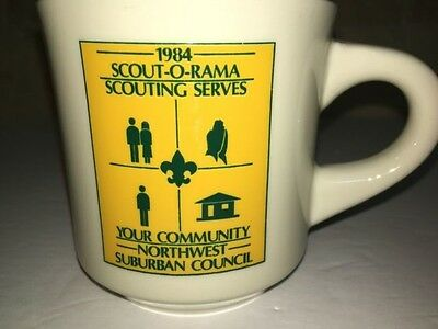 BOY SCOUTS 1984 BSA SCOUT O RAMA NORTHWEST SUBURBAN COUNCIL Scouting vtg USA