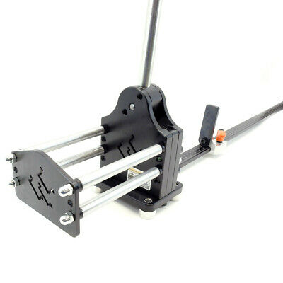 Multi-Profile (IDEC BNDN-1000 ALUM)DIN Rail Cutter with Guide and Length Stop
