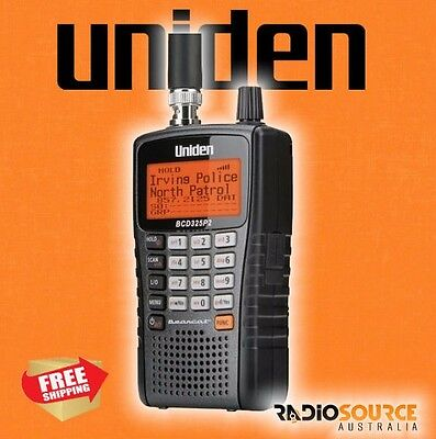 Uniden Bcd325P2-Au 25000 Channel Digital Scanner Phase 1 2 Trunk Tracker Apco 25