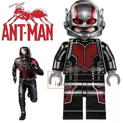 1pc Ant-Man Minifigure Building Toy Blocks Marvel Avengers Custom Lego #152