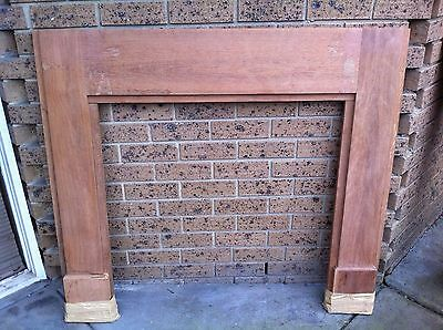 Mantle Mantel Piece Fire Place Surround  #4 Wood Raw